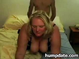 Big beautiful woman gets fucked doggystyle