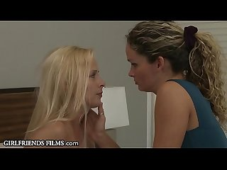 GirlfriendsFilms Prinzess Tribs And Fucks A Mature Lesbian