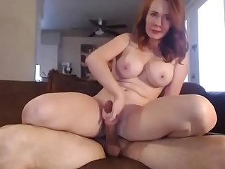 Hot Busty Readhead and Her BF on Cam - CamGirlsUntamed.com