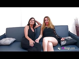 Chatting with em colon natalia and lucia comma two hot milfs who are hungry of young meat