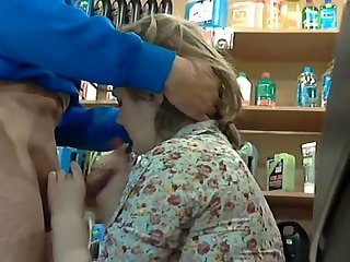 Blowjob in store #1