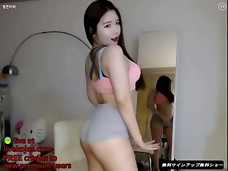 Korean bj teen incredible hot body live at livekojas com