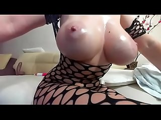 mom's big tits wearing fishnet on camboozle.com