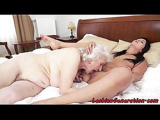 Bigtit mature pussylicking eurobabe