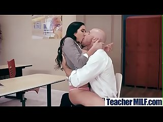 Sexy naughty teacher karlee grey with big tits in sex act in class video 18