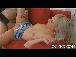 Juvenile playgirl teased by old crock