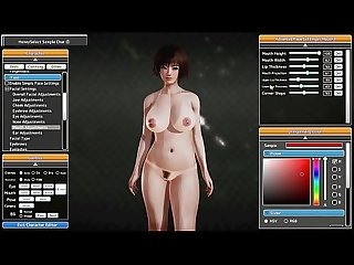 Honey Select Character Creation: MILF