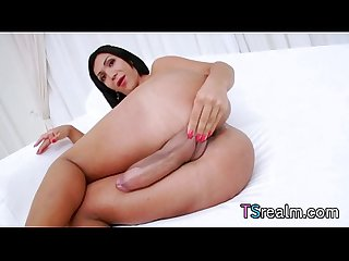 Latin Ts babe sabrina suzuki masturbates