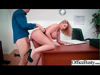 (Brooklyn Chase) Busty Girl In Hard Style Sex In Office clip-10
