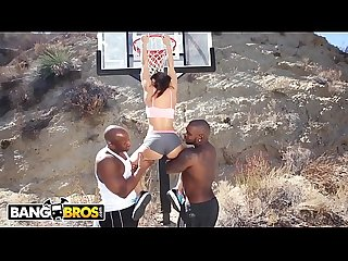 Bangbros Interracial love and basketball with big tits Milf lisa ann