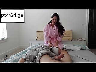 Mom rides her step son watch more on porn24 ga