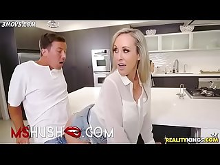 Mom does not notice son fucking her friend Brandi Love - MsHush.com