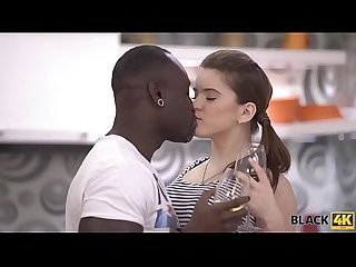 Black4k period very huge dick of black lover makes white teen happy