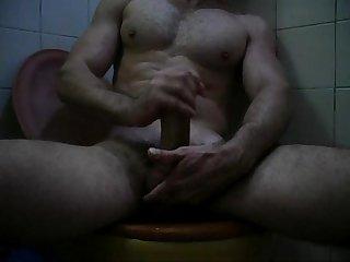 Punheta no Banheiro delicia de Gozada