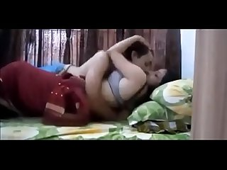 Indian couple fucked in a bed
