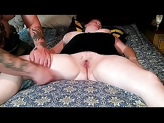 42017 Sleeping wife exposed toyed fucked creampied part1