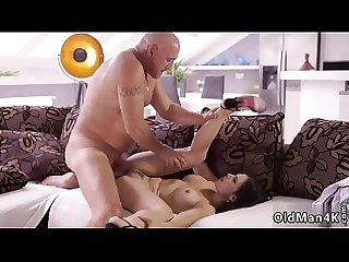 Show daddy and sexy Old rough fuck fest for super sexy latina babe
