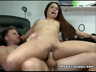 Hot load for abused momma