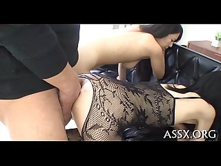 Enthralling asian bang