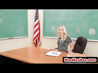Teacher Vs Student PartTwo (CharlotteStokely & LolaHunter) clip-01