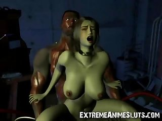 3d shocking scifi Sex