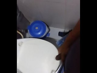 Horny toilet fun