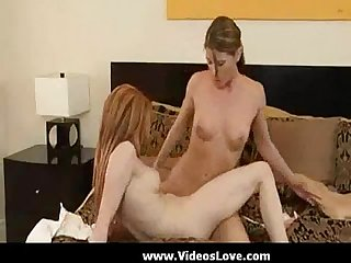 Tight Babes in hostel doing lesbian