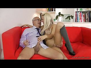 Lou Lou fuck old guy part 2