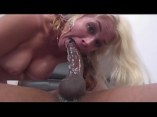 Black monster cock filled sarah vandella s mature pussy