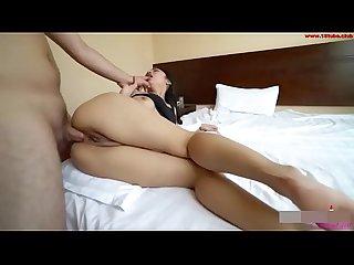 Asian cute girl anal Sex