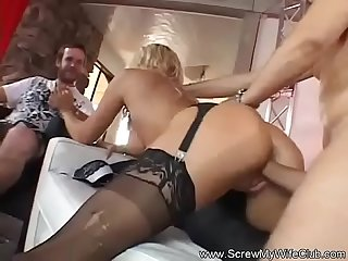 Sharing My Swinger Wife