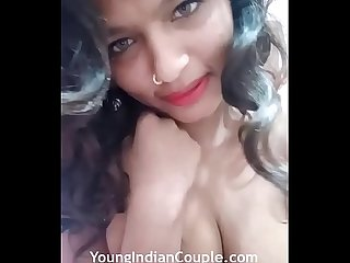 Sexy Sarika Desi Teen Dirty Sex Talking With Her Step Brother