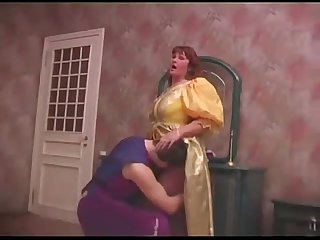 Russian mom and son Halloween sex 1