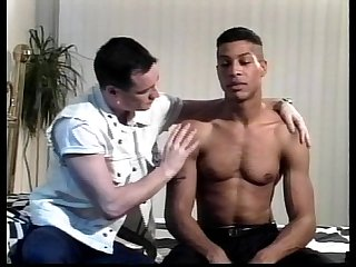 Vca gay black leather white studs scene 1