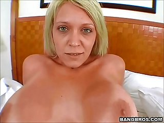Hot mom fucked in the toilet
