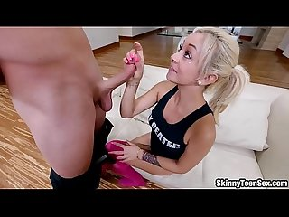 Sweet girl Ivy fucked and cum facialed