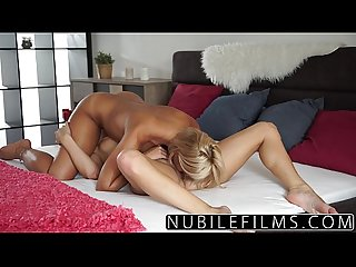 Nubilefilms college blonde lovers exchange intense orgasms