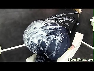 European slut gets slimed