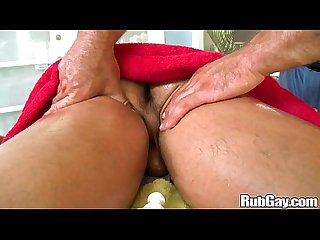 Rubgay foreign ass massage