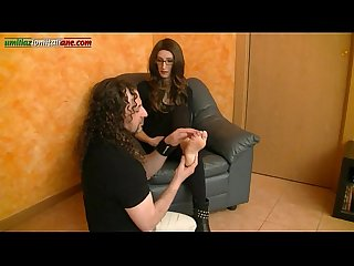 Interview to Anna - Foot Licking and Trample Boots