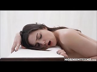 Hot Mormon Teen Fucked By Church Prez