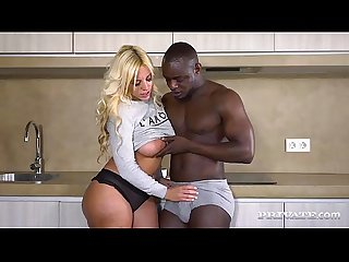 Blondie Fesser In a Hot Interracial Scene