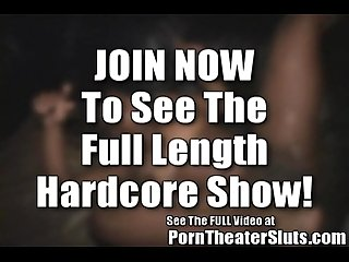 Natalie's Tampa Porn Theater Circle Jerk