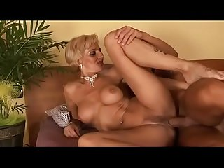 Hot blonde milf will take care of her nephew s cock