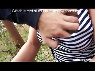 Amateur chubby street whore gives hardcore deepthroat