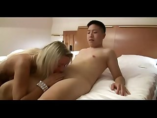 Virgin asian boy gets his first fuck from hot step mom watch Part2 on porn4us org