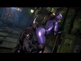 Bad Batman getting tweak on