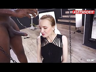 LETSDOEIT - Redhead Belle Claire Fulfill DEEP Desires with Hard BBC