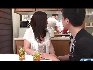 Sanae Akino blows hubby before going to work - More at javhd.net