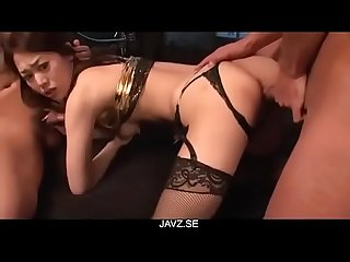 Ann Yabuki is in great need for serious pussy pumping - From JAVz.se